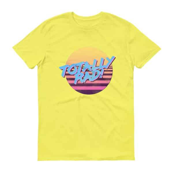 Totally Rad T-Shirt by Treaja®   Retro 80s Style Unisex Shirt