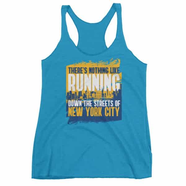NYC Running Women's Racerback Tank